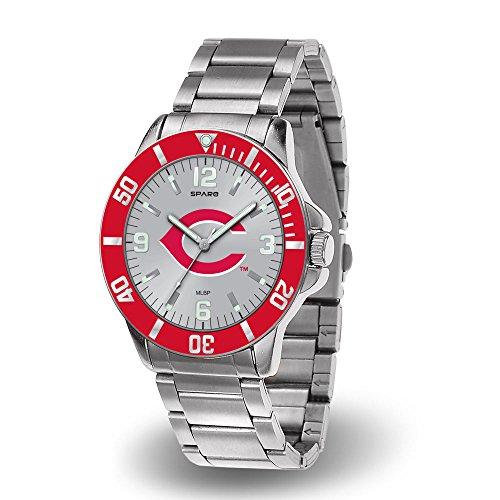 Cincinnati Key Reds ((Dead) Cincinnati Reds Key Watch with Stainless Steel Band)