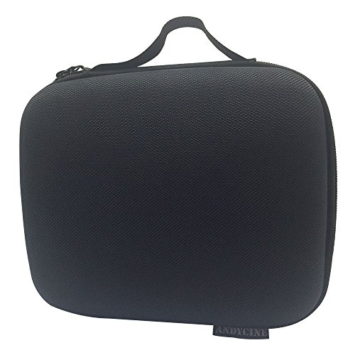 ANDYCINE Monitor Carrying Case With EVA Foam Zipper Bag for FW759/FW760/F7 and other 7 inch Camera Monitor(9.06x7.4x4.33inch) by ANDYCINE
