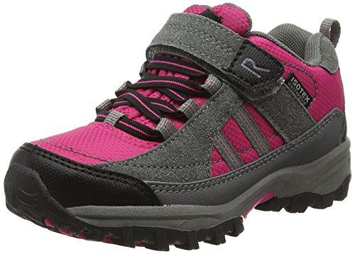 Regatta Mädchen Trailspace 2 Trekking-& Wanderhalbschuhe, Pink (Jem/Charcoal 1Ck), 38 EU