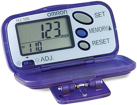 Omron Hj 105 Pedometer With Calorie Counter Amazon Sg Health Personal Care