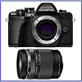 Olympus OM-D E-M10 Mark III (Mark 3) Digital Camera Bundle (With 14-150mm PRO Lens, Black)