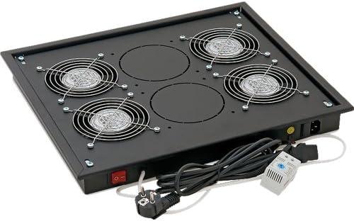 Triton RAB-CH-X04-X3 Accesorio de Bastidor Ventilador - Accesorio de Rack (Ventilador, Negro, SECC, 1U, 48,3 cm (19