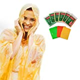Always Prepared Lightweight Rain Poncho with Hood (6...