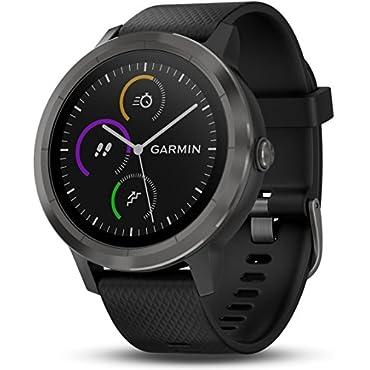 Garmin vivoactive 3 GPS Smartwatch (Black & Gunmetal)