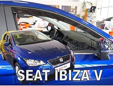 Car Lux AR05135 Derivabrisas Deflectores de Aire Cortavientos de Ventanillas Delanteros para 2008 Desde 2013
