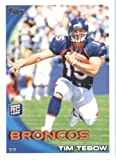2010 Topps NFL Football Card # 440 Tim Tebow RC