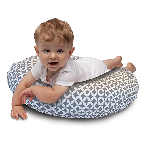 Boppy Nursing Pillow and Positioner, Gray/White by Boppy (Image #3)