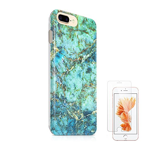 iPhone Turquoise Protective Tempered Protector