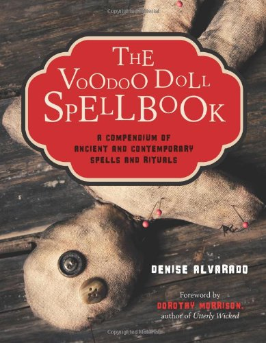 Voodoo Doll Spellbook Compendium Contemporary product image