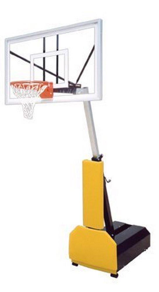 最初チームFury Nitro steel-glassポータブルバスケットボールsystem44 ;ケリーグリーン B007LQLSIE