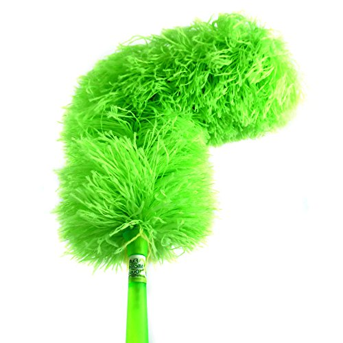 Fluffy Microfiber Duster | Best Green Cleaning Washable Dusters,Reusable Micro Fiber, Bendable; Extendable-Add Your Handle For Long Reach, Eco Friendly by CleansGreen Not Ostrich Feather or Lambs Wool