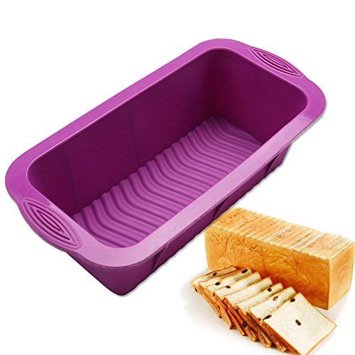 1 Pcs Creative Rectangular Silicone Mold for Toast Bread Cheese Cake Mousse Fondant Baking Biscuit Chocolate