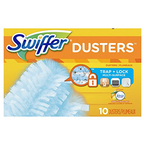 Swiffer 180 Dusters Refills with Febreze Sweet Citrus & Zest Scent, 10 Count