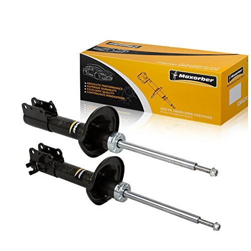 Maxorber Rear Set Shocks Struts Absorber Compatible with Ford Escort,Mercury Tracer 1991-1996 Replacement for Mazda 1990-1995 234039 234040 71930 71880 1991 Ford Escort Mercury Tracer