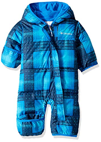 Columbia Baby Snuggly Bunny Bunting, Super Blue Plaid/Super Blue, 12/18 from Columbia