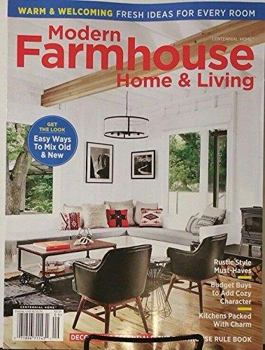 . Amazon com  Modern Farmhouse Home   Living Magazine 2018 Rustic