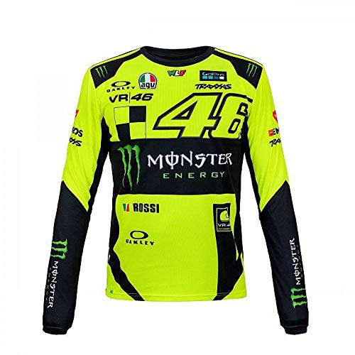 (VR46 Monza Original Long Sleeve Official Collection Valentino Rossi)