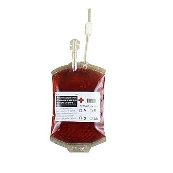 benhai 2 Blut Tasche Halloween Vampire Beverage Tasche Fruit Juice ...