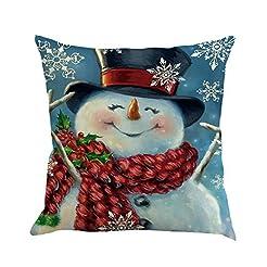 Eve.Ruan 1Pc Christmas Cartoon Snowman P...