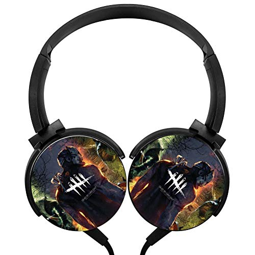 Wired Stereo Headphone Dead Cool by Day-Light Portable Noise Cancelling Over Ear Headset Earphone Earpiece