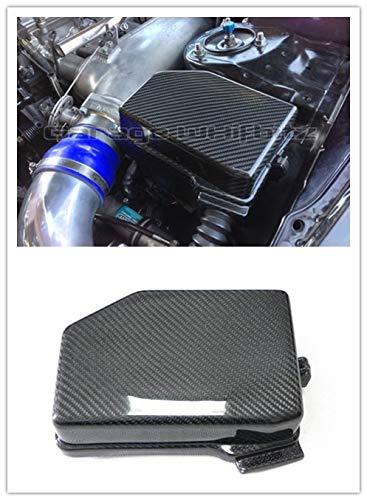 De fibra de carbono Motor Partes Accesorios Cubierta de la ...