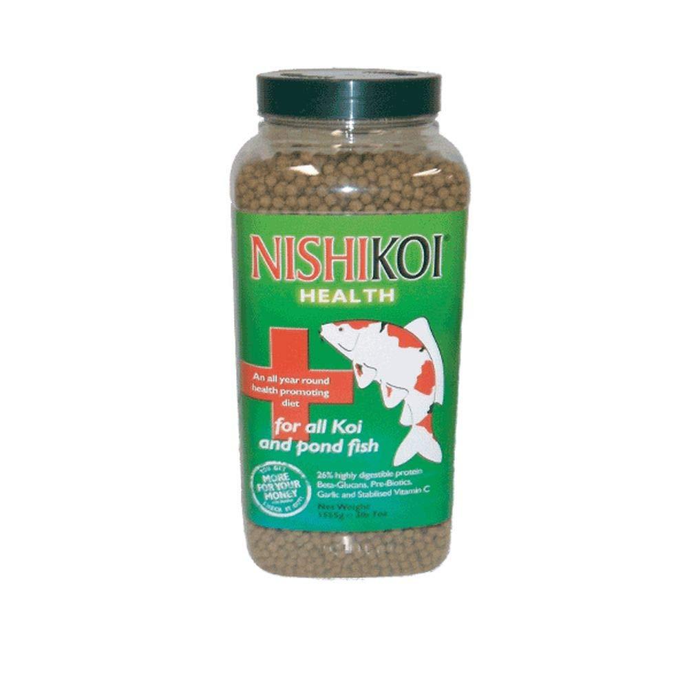 1555g Jar Medium 1555g Jar Medium Pet's House NISHIKOI HEALTH POND PELLETS KOI FISH FOOD VITALITY IMMUNE BOOSTER FEED