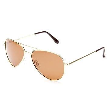 Gafas de sol polarizadas Classic Aviator para mujer Peter Storm, Marrón, Talla Única