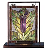 9.5 Inch W X 10.5 Inch H Jack-in-the-pulpit Lighted Mini Tabletop Window , Windows , Meyda