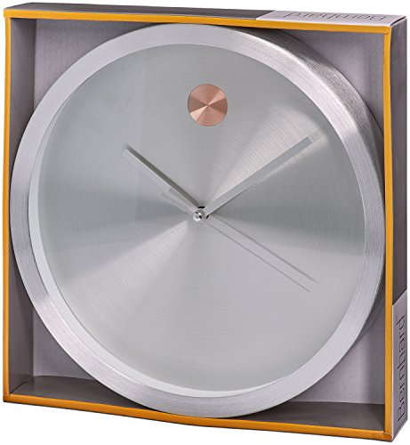 Bernhard Products 10 Inch Modern Contemporary Wall Clock