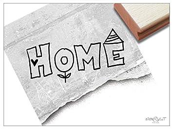 Stempel Textstempel Home Schriftstempel Zum Einzug Umzug In Neue