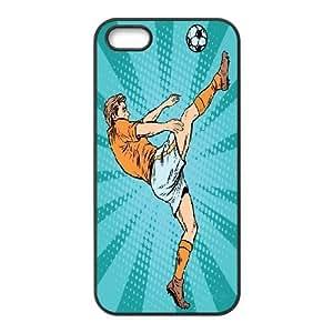 kimcase Custom Football & Soccer Ball Cover Case for iPhone 5,5S