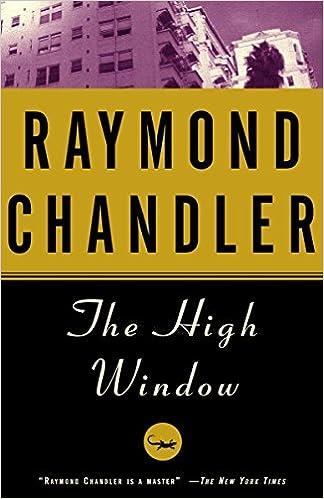 The High Window (Vintage Crime/Black Lizard): Amazon.es: Chandler, Raymond: Libros en idiomas extranjeros