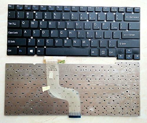 SZYJT New Laptop US Keyboard for Sony Vaio SVT 13 SVT131 SVT13 SVT13117 SVT13115 SVT131A11L SVT13134CXS Series