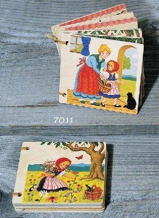 Atelier Fischer Wooden Book - Little Red Riding Hood (Waldorf Swiss)