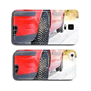 Winter tyre cell phone cover case iPhone5