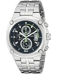 Citizen Mens AN3450-84L Analog Display Japanese Quartz Silver Watch