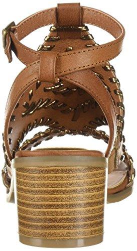 Women's Robin Sugar Cognac Sandal Heeled JR 0fww1q7g