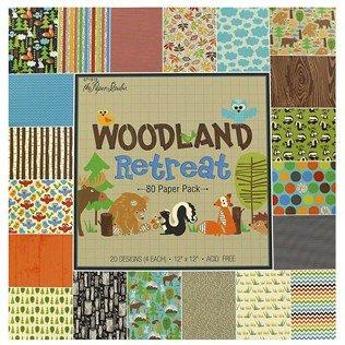 "12"" x 12"" Woodland Retreat Paper Pack"