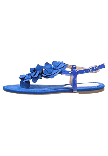 Blaue Zehentrenner für Damen 22BddSi