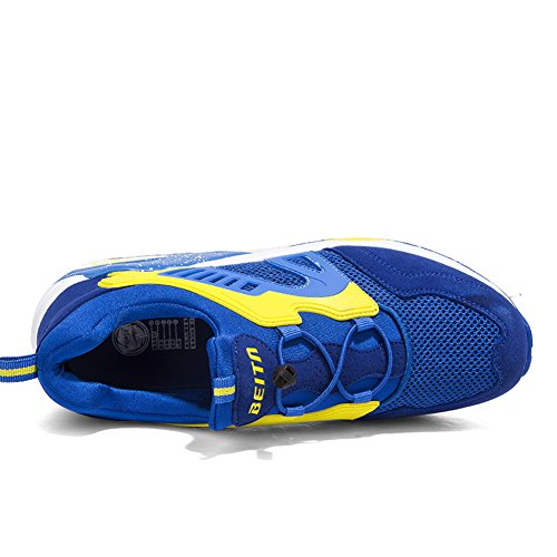 Breathable Sneskers Person Shoes Running Yellow Lightweight Laceless fashion Qzbeita Shoe gym Lazy Mens Shoes Pt1wqndq