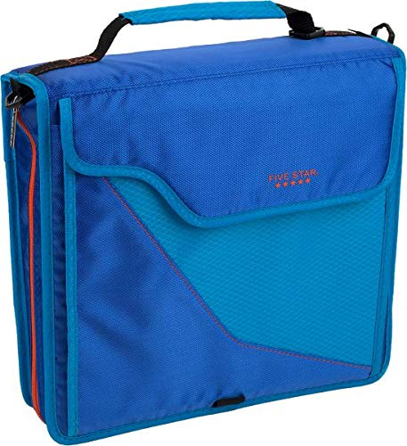 Five Star 3 inch Sewn Zipper Binder & Removable Padded Case - ()