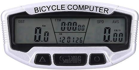 Ordenador para bicicleta Ordenador inalámbrico para ciclismo a ...