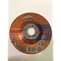 Leman - Disco corte metal naranja 115x2.50x22.23