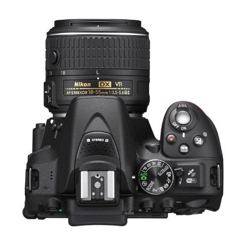 Nikon D5300 24.2 MP CMOS Digital SLR Camera with 18-55mm f/3.5-5.6G ED VR Auto Focus-S DX NIKKOR Zoom Lens (Black) 6