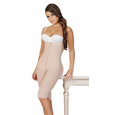 Fajas Salome Womens 0527 Post Surgical Butt Enhancer Bodyshaper (XS, NUDE)