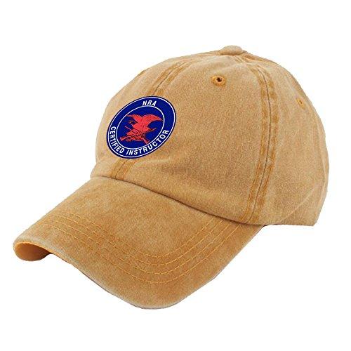- UCOOLE NRA Certified Instructor Dad Hat Adjustable Denim Hat Classic Baseball Cap