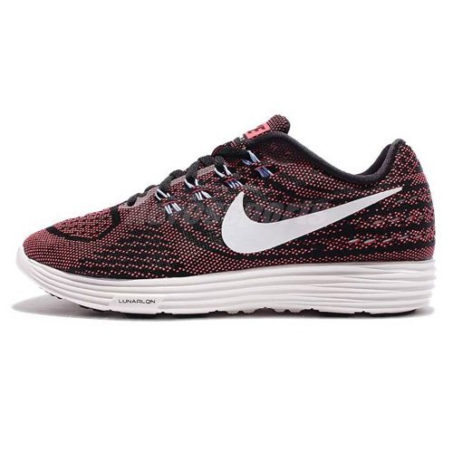 competitive price bd7c4 cc3a5 Galleon - NIKE Women s Lunartempo 2 Running Shoe (11 B(M) US, Black Summit  White-Hot Punch)