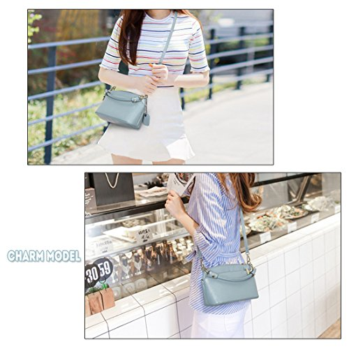 Black Wallet Purse Phone Crossbody Handbag Ladies Small Clutch Satchel Leather Artwell Bag Women Small Shoulder Genuine awqOnZSp1