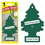 Magic Tree Little Trees Car Home Air Freshener Freshner Smell Fragrance Aroma Scent - FOREST FRESH (108 Pack)