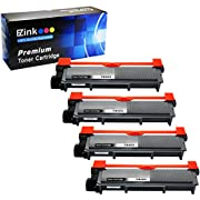 #LightningDeal 89% claimed: E-Z Ink (TM) Compatible Toner Cartridge Replacement for Brother TN660 TN-660 TN630 TN-630 High Yield (4 Black) For HL-L2320D HL-L2380DW HL-L2340DW MFC-L2700DW MFC-L2720DW MFC-L2740DW MFC-L2707DW